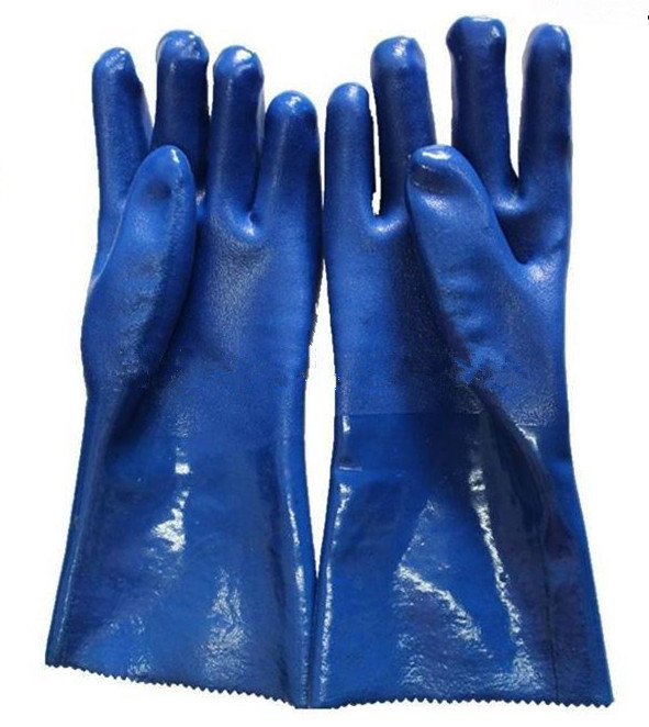 Pvc gloves industrial gloves 35cm