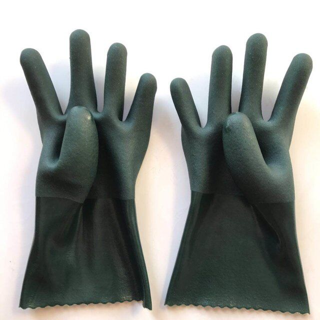 Pvc industrial gloves china manufacturer