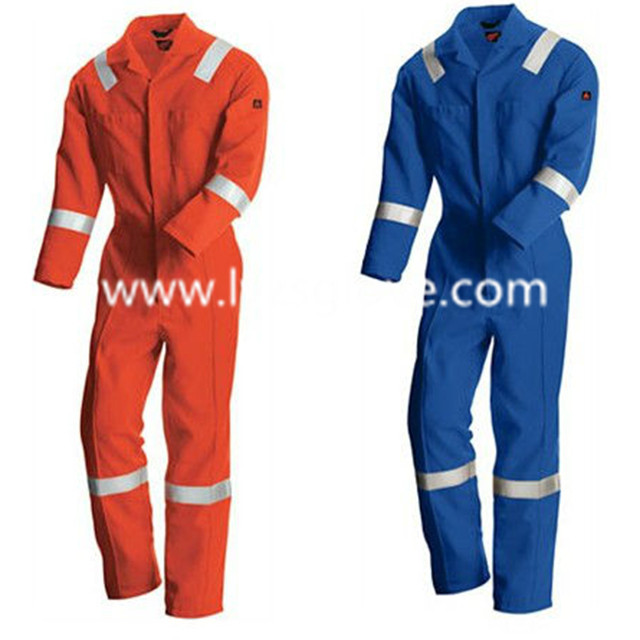 Advanced Cotton Nylon FR Coverall with Reflective Tape