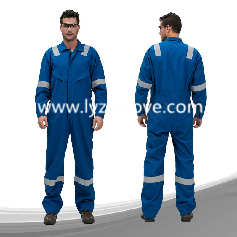 safety workwear flame fire resistant coverall