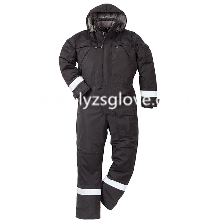 Wholesale cotton rip-stop coverall for winter