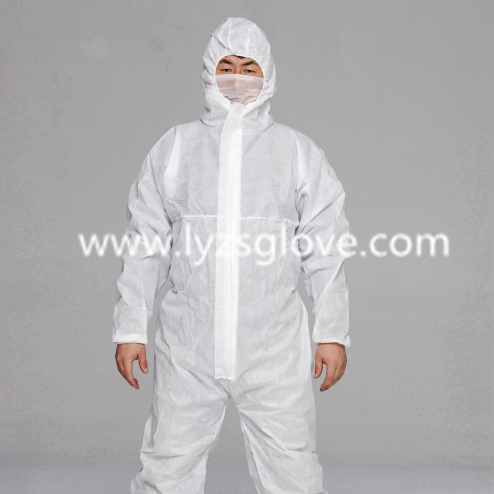 All-Purpose Single-Use Protective Clothes Safety Disposable Coverall